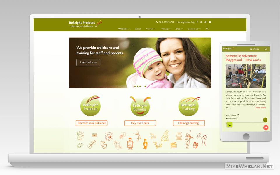 bebright-projects-wordpress-website