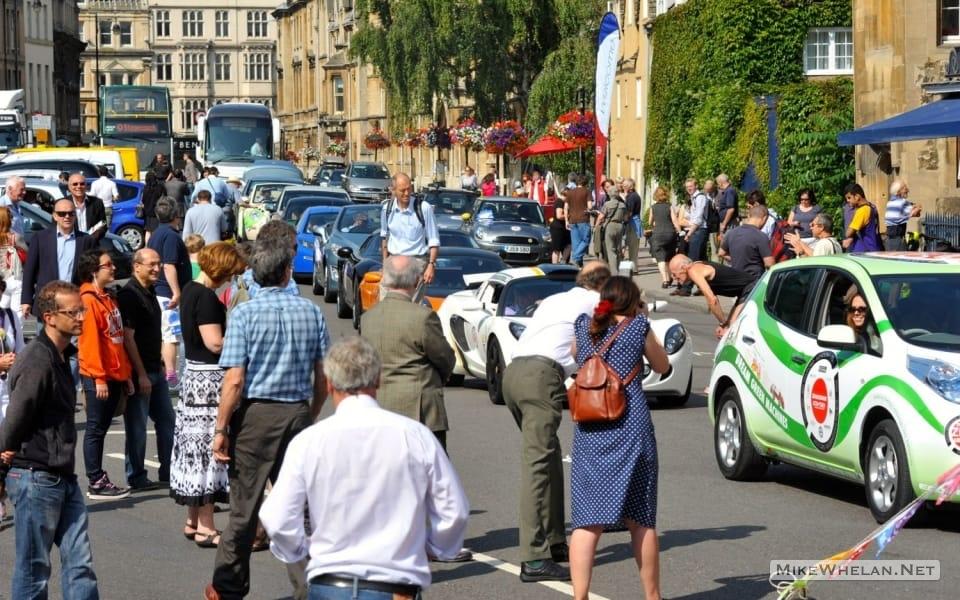 Eco-Rally Startline Parade, Oxford