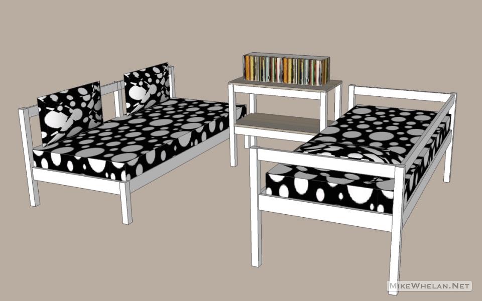 sofa bed mode