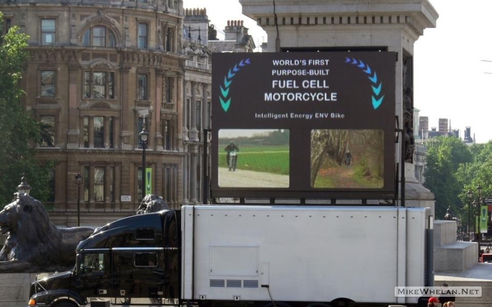 Promotional video, Trafalgar Square, London