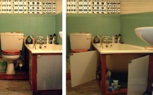 bath cupboards