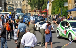 Eco-Rally Startline Parade, Oxford
