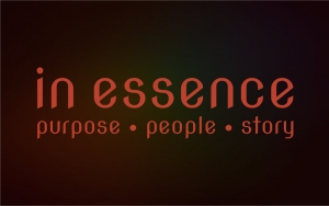In Essence - purpose * people * story logo