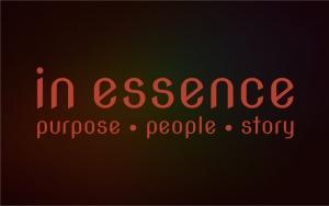 In Essence - purpose * people * story logo